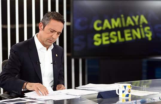 Bizler, Fenerbahçe'nin umut dolu yarınlarında, gurur dolu asırlık tarihimize yazılacak yeni başarılarda yine omuz omuza olacağız