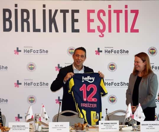 Kulübümüz HeForShe projesini spor basınına yön veren isimlere tanıttı