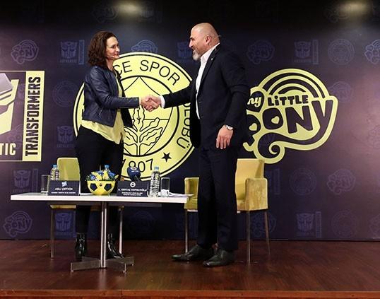 Kulübümüz ile Hasbro arasında marka ortaklığı anlaşması imzalandı